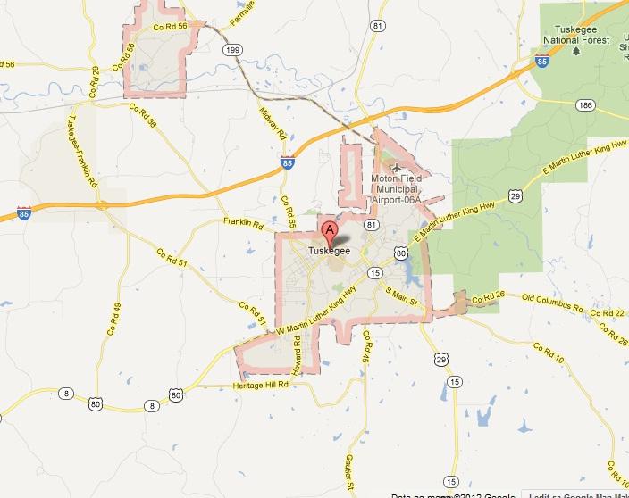 City of Tuskegee AL Auburn Land Surveying